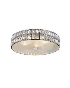 Access Lighting 62356LEDD-MSS/CRY Magari 1 Light Crystal Flush Mount