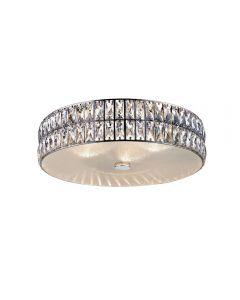 Access Lighting 62357LEDD-MSS/CRY Magari 1 Light Crystal Flush Mount
