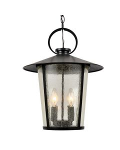 Crystorama AND-9204-SD-MK Andover 4 Light Outdoor Chandelier