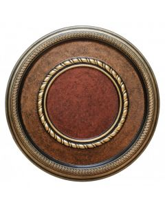 FAD Hand Painted Ceiling Medallion, 17 3/8 in. Finished in Bronze, Gold and Copper (LPCCMF-124)