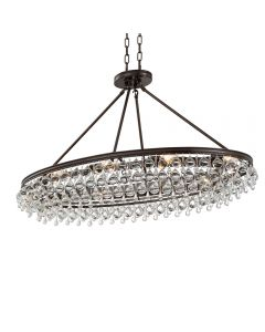 Crystorama 279 Calypso 8 Light Chandelier