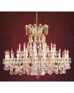 Crystorama 4308 Maria Theresa 37 Light Chandelier
