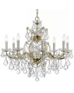 Crystorama 4408 Maria Theresa 9 Light Chandelier