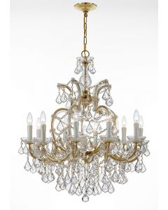 Crystorama 4438 Maria Theresa 11 Light Chandelier