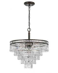 Crystorama 5264 Mercer 6 Light Chandelier