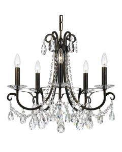 Crystorama 6825 Othello 5 Light Chandelier