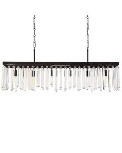 Crystorama 8407-FB Hollis 6 Light Chandelier