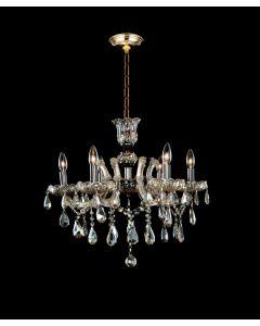 Lighting Paradise ILF2030/8+4/CH 6 Light Crystal Chandelier