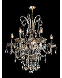 Lighting Paradise ILF2023/6L/PL 6 Light Crystal Chandelier