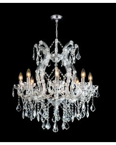 Lighting Paradise ILF2035/8+1L/CH 9 Light Crystal Chandelier