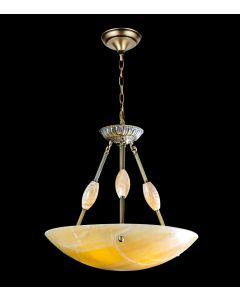 Lighting Paradise ILFA1003 3 Light Alabaster Chandelier