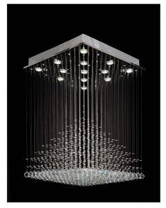 Lighting Paradise Chandelier with Chrome base