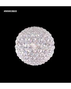 James R Moder 95953 Sun Sphere Europa 3 Light Wall Sconce