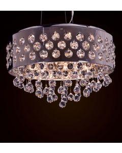 Lighitng Paradise ILFM1024/6L 6 Light Crystal Chandelier