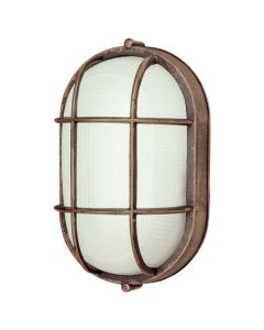 Trans Globe Lighting PL-41005-RT 1 Light Bulkhead