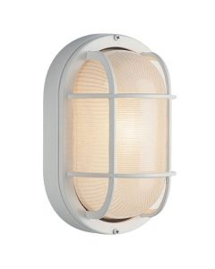 Trans Globe Lighting PL-41015-WH Aria Outdoor Bulkhead