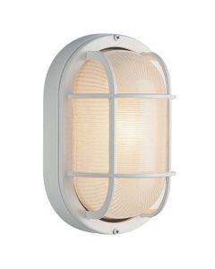 Trans Globe Lighting PL-41015-WH Aria Outdoor Bulkhead