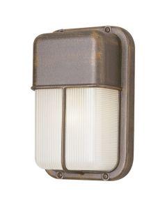 Trans Globe Lighting PL-41103-SAL 1 Light Bulkhead