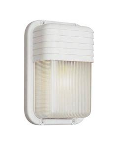 Trans Globe Lighting PL-41105-WH 1 Light Bulkhead