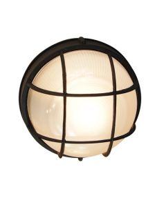 Trans Globe Lighting PL-41515-BK Aria Outdoor Bulkhead