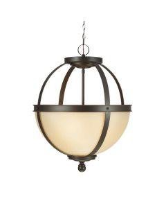Sea Gull Lighting 6690403EN3-715 Sfera 3 Light Pendant