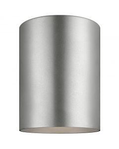Sea Gull Lighting 7813897S Outdoor Cylinders 1 Light Flush Mount