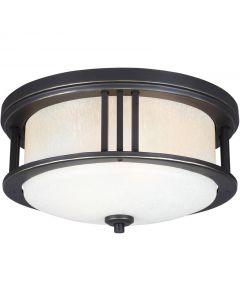 Sea Gull Lighting 7847902-71 Crowell 2 Light Outdoor Flush Mount
