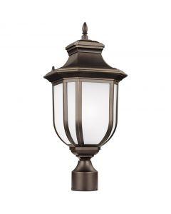 Sea Gull Lighting 8236301-71 Childress 1 Light Post Lantern