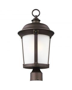 Sea Gull Lighting 8250701EN3-71 Calder 1 Light Post Lantern