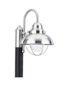 Sea Gull Lighting 826993S Sebring 1 Light Post Lantern
