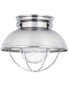 Sea Gull Lighting 886993S Sebring 1 Light Outdoor Flush Mount