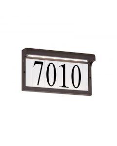 Sea Gull Lighting 96091S 1 Light LED Address Light/Sign