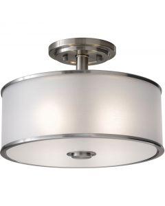 Sea Gull Lighting SF251BS Casual Luxury 2 Light Semi Flush Mount
