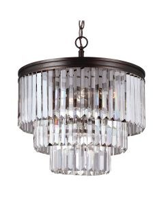 Sea Gull Lighting 3114004 Carondelet 4 Light Chandelier