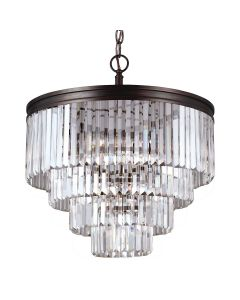 Sea Gull Lighting 3114006BLE Carondelet 6 Light Chandelier