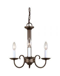 Sea Gull Lighting 31807 Holman 3 Light Chandelier