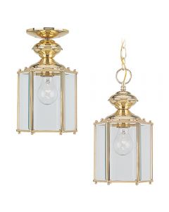 Sea Gull Lighting 6008 Classico 1 Light Hanging Lantern