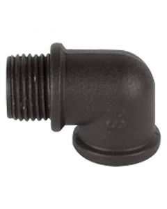 WAC Lighting 5000-LCO-BZ Threaded L Shaped Rod Coupler