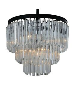 Yosemite Caesar YHD4237 9 Light Crystal Chandelier